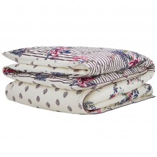Joules Harvest Garden Double Duvet Cover Bilberry