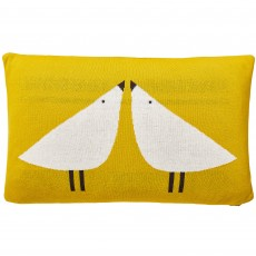 Scion Lintu Bird Cushion Pebble 30cm x 50cm