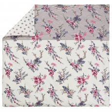 Joules Harvest Garden Super King Duvet Cover Bilberry