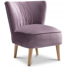 Malmesbury Chair Fabric Plush Lilac