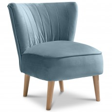Malmesbury Chair Fabric Plush Teal