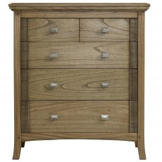 Utopia Ash 3 + 2 Chest of Drawers