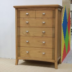 Utopia Ash 4 + 2 Chest of Drawers