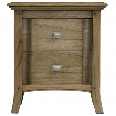 Utopia Ash Wide 2 Drawer Wardrobe