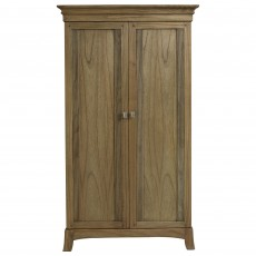 Utopia Ash Narrow Double Wardrobe