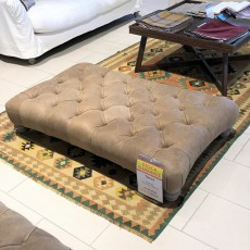 Matisse Footstool Leather Category D (Available in Galway) WAS €1,169 NOW €759 SAVE €410