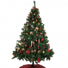 180cm/6ft Decorated Christmas Tree