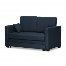 Mexico 2 Seater Sofa Bed Navy