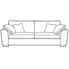 Matty 3 Seater Sofa Fabric EA