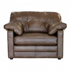 Alexander & James Bailey Lounge Armchair Byron Leather