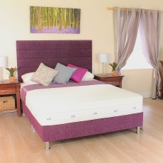 iKool Luxury Support Super King (180cm) Divan Set With Legs