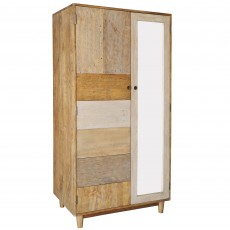 Layla Double Wardrobe Reclaimed Wood