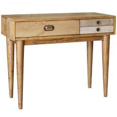Layla Dressing Table Reclaimed Wood
