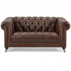 Blenheim 2 Seater Sofa Vintage & Hand Rubbed Leather