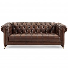 Blenheim 4 Seater Sofa Vintage & Hand Rubbed Leather