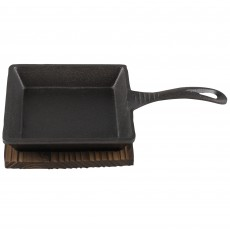 Maison Sabatier Small Square Stoneware Pan & Base