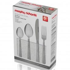 Morphy Richards Mimosa 24 Piece Cutlery Set Stainless Steel