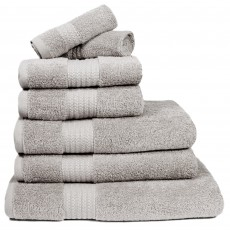Restmor Madison Bath Towel Silver