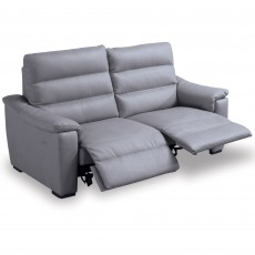 Egoitaliano Marina 2 Seater Sofa With 2 Electric Recliners & Leather B