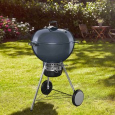 Weber Mastertouch GBS Charcoal Barbecue 57cm Slate Blue