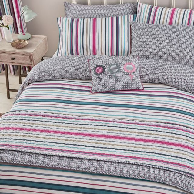 Duvet Covers.Helena Springfield Trixie Double Duvet Cover Multi