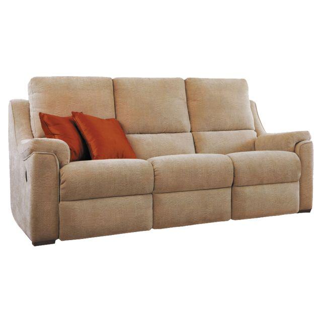 Seater Manual Reclining Sofa Fabric, Parker Knoll Albany Corner Sofa