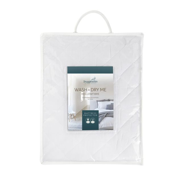 Snuggledown Wash & Dry Me Super King Mattress Protector