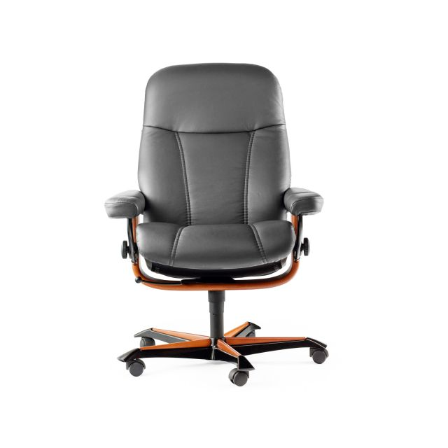 Stressless Consul Office Swivel Chair Batick Leather
