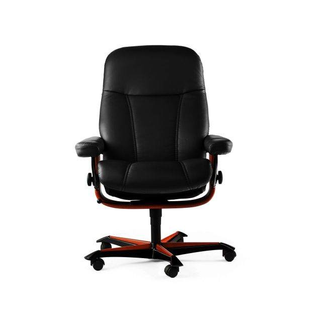 Stressless Consul Office Swivel Chair Paloma Leather