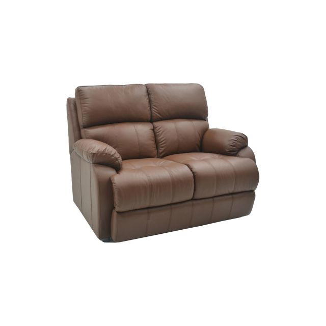 High Back Leather Sofas: 2 Seater Sofa Leather The Dillon High Back 2 Seater Sofa